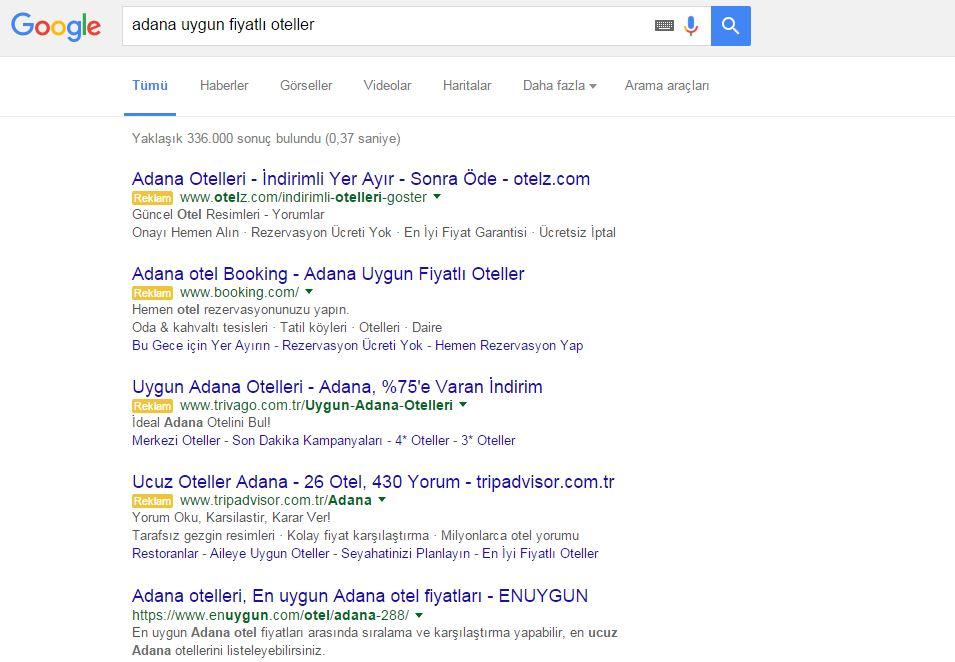 google-otel-reklami